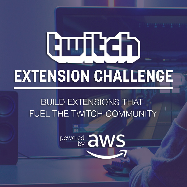 Twitch AWS Extensions Challenge: Build an Extension that