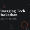 Emerging Technology Hack 2019