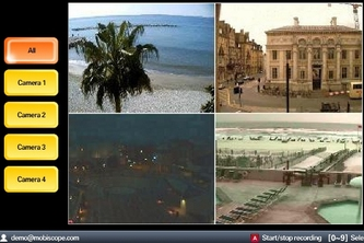 Mobiscope: Video from Webcams