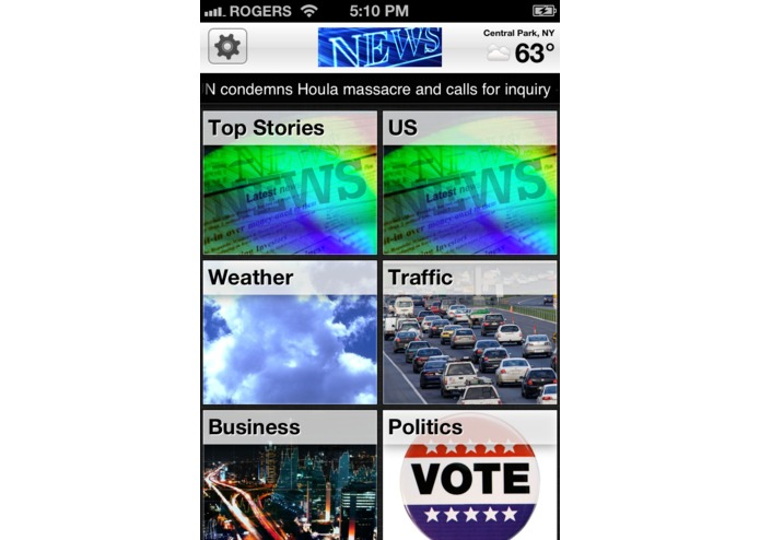 US Headlines, Weather & Traffic – screenshot 1