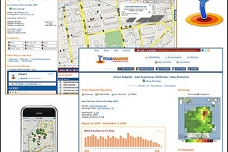 311 Service Calls and Restaurant Inspections by Your Mapper