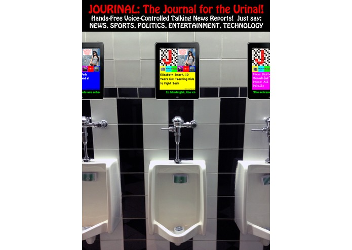 JOURINAL: The Journal for the Urinal! – screenshot 1