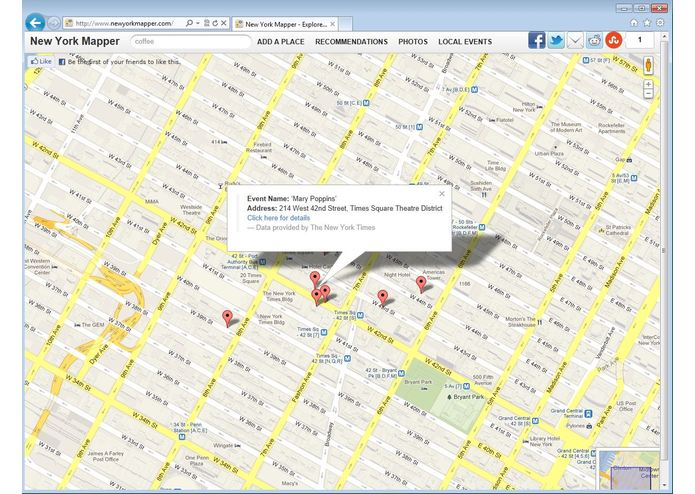 New York Mapper – screenshot 1