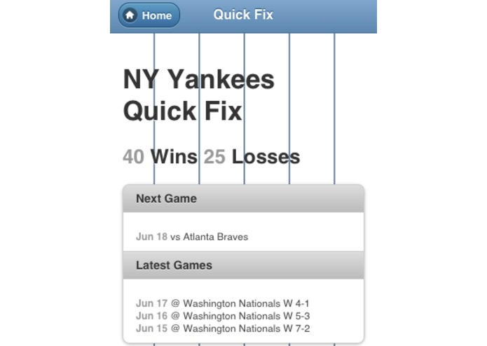 NY Yankees Quick Fix – screenshot 1