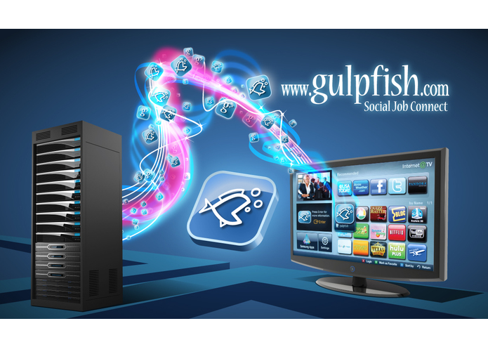 Gulpfish Social Job Connect for Samsung TV – screenshot 1