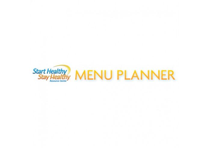 Start Healthy Stay Healthy (TM) Menu Planner – screenshot 1