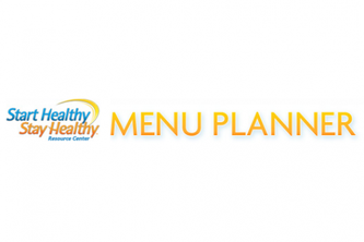 Start Healthy Stay Healthy (TM) Menu Planner