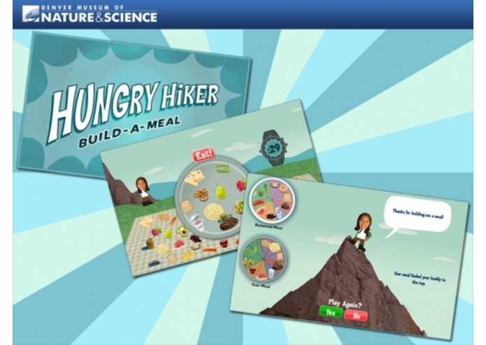 HUNGRY HIKER Build-A-Meal  – screenshot 1