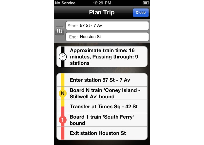 NYC Station Finder – screenshot 5