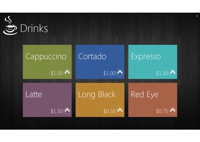 Coffee vNext – screenshot 2