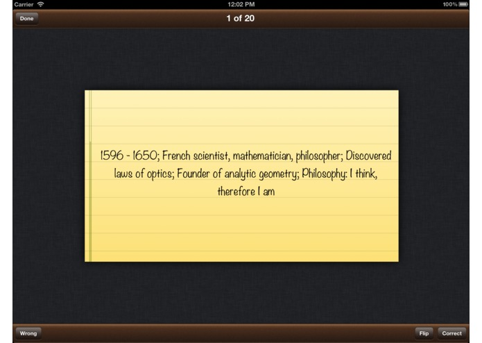 Flashcards Pro for iPad – screenshot 2