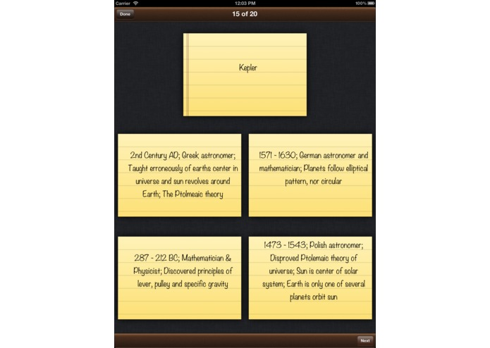 Flashcards Pro for iPad – screenshot 3