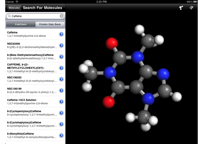 Molecules – screenshot 2