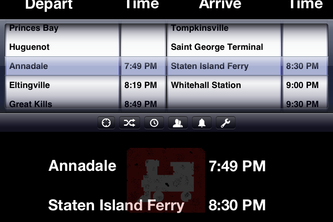 Annadale: Staten Island Train and Ferry