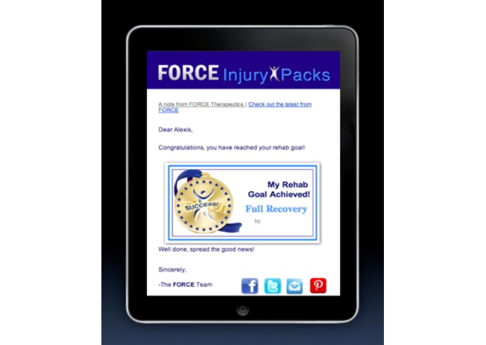 FORCE Injury Packs – screenshot 4