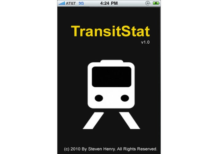 TransitStat – screenshot 1