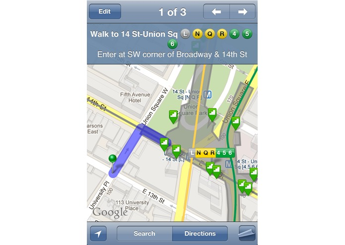 iTrans NYC Subway – screenshot 1