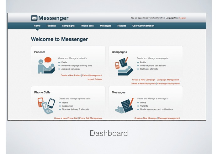 Vocatta Messenger – screenshot 2