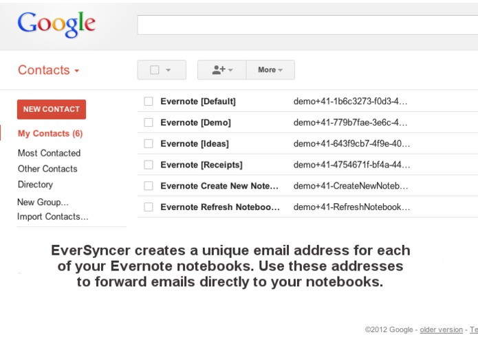 EverSyncer - Emailing to Evernote Made Easy – screenshot 3