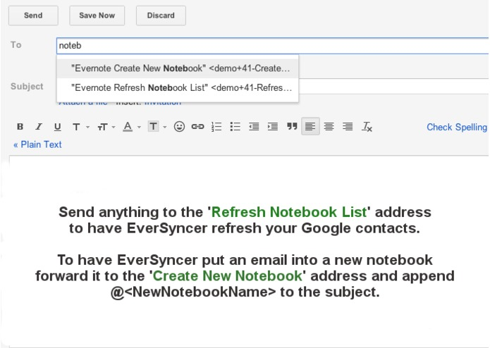 EverSyncer - Emailing to Evernote Made Easy – screenshot 4