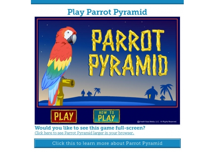 Parrot Pyramid – screenshot 1