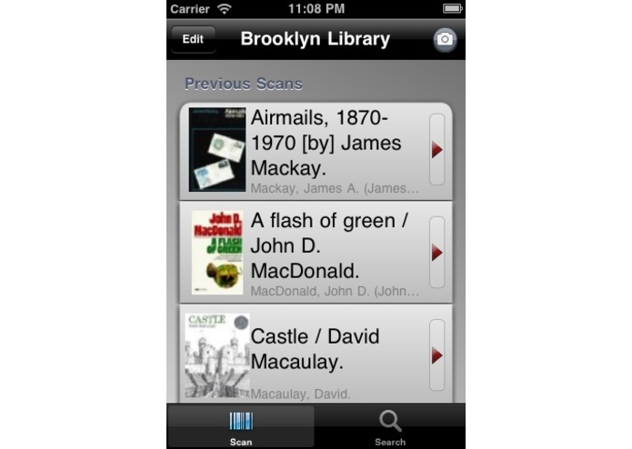 Brooklyn Public Library iPhone Application – screenshot 2