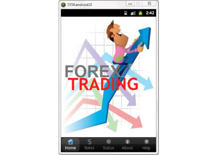 ForexTrading Android App – screenshot 1