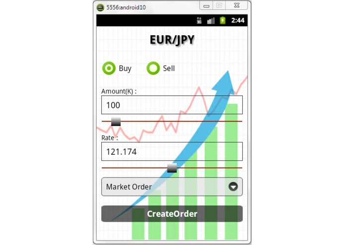 ForexTrading Android App – screenshot 4
