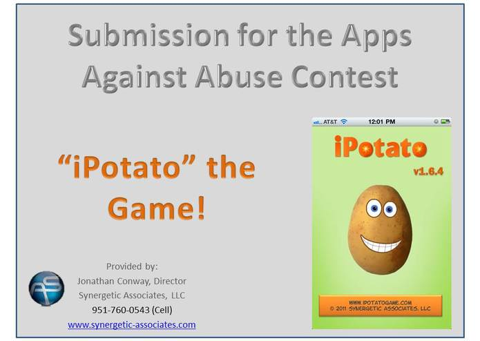 iPotato the Game v1.6.4 - Apps Against Abuse Edition – screenshot 1