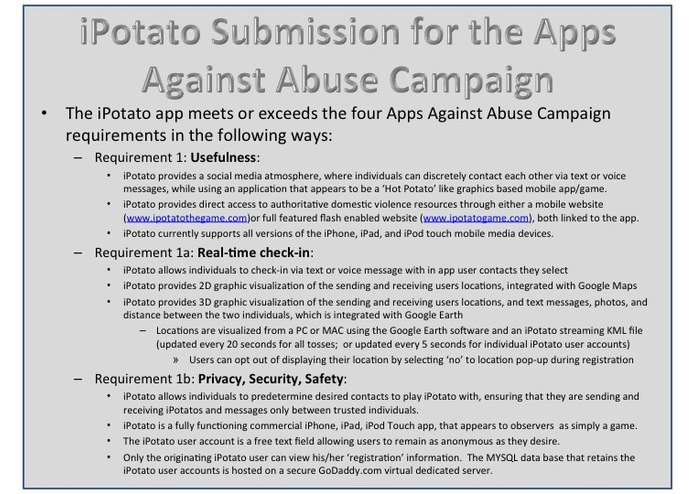 iPotato the Game v1.6.4 - Apps Against Abuse Edition – screenshot 3