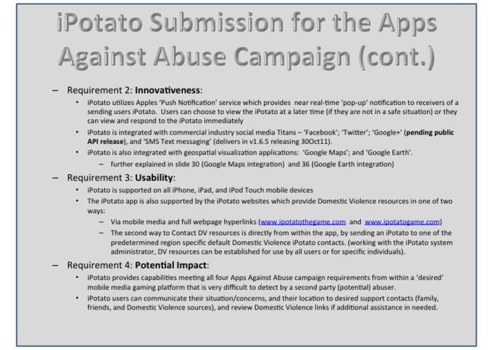 iPotato the Game v1.6.4 - Apps Against Abuse Edition – screenshot 5