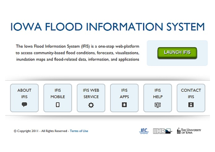 IFIS - Iowa Flood Information System – screenshot 1