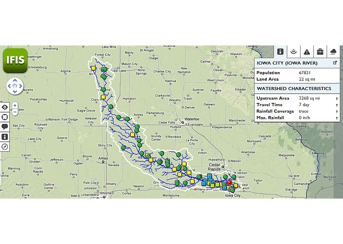 IFIS - Iowa Flood Information System – screenshot 2