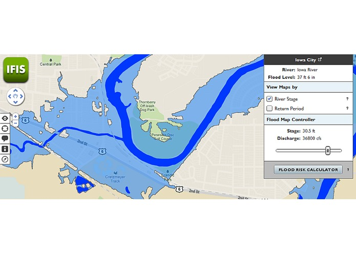 IFIS - Iowa Flood Information System – screenshot 3