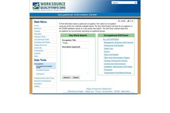 Oregon Occupational Information Center (OIC)