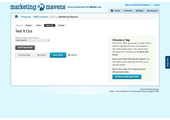 Maven RSS to Email – screenshot 3