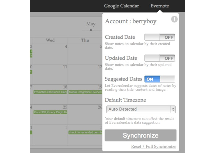 Evercalendar – screenshot 2