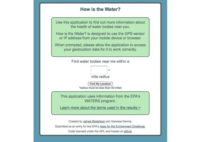 How is the Water? – screenshot 1