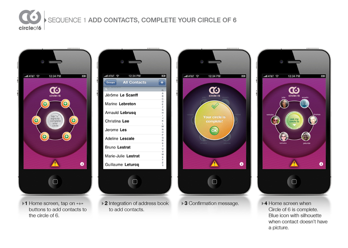 Circle of 6 – screenshot 3