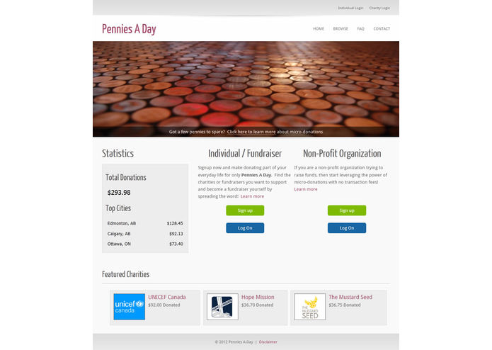 Pennies a Day – screenshot 1