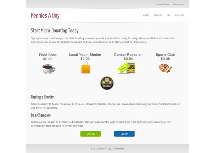 Pennies a Day – screenshot 2