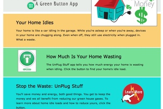 The UnPlugStuff Green Button app