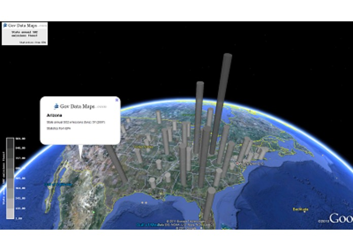 Power and Emissions Thematic Mapper – screenshot 2