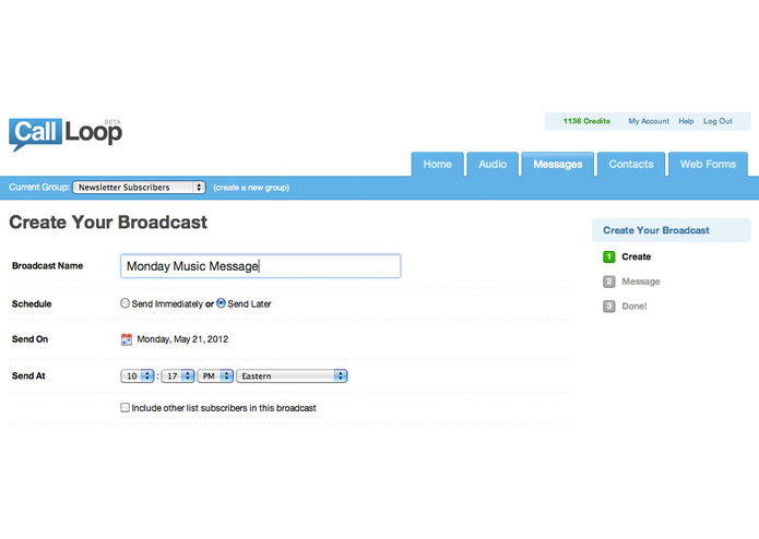 Call Loop – screenshot 2