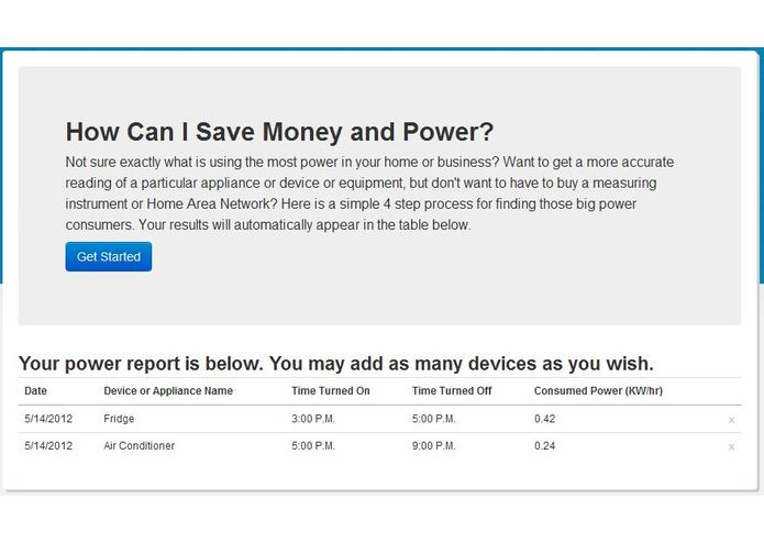 My Power Reports – screenshot 5
