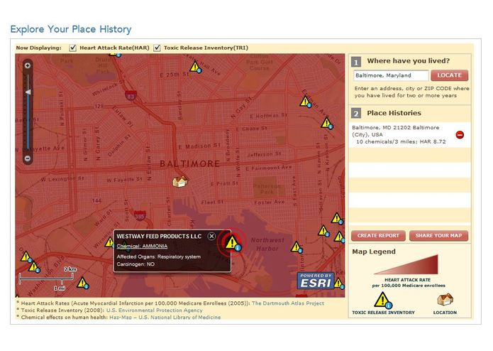 Geomedicine - Explore Your Place History – screenshot 2