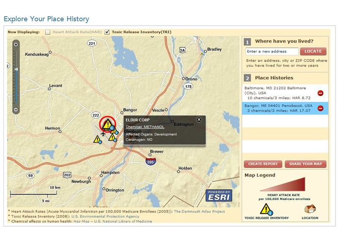 Geomedicine - Explore Your Place History – screenshot 3