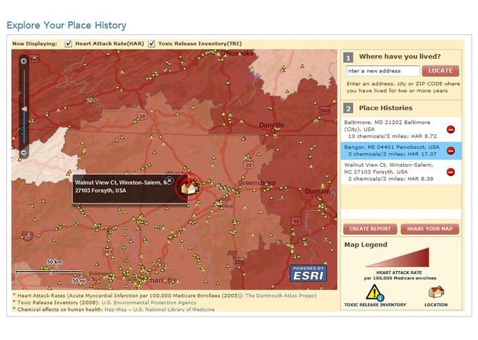 Geomedicine - Explore Your Place History – screenshot 4