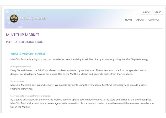 MintChip Market – screenshot 1