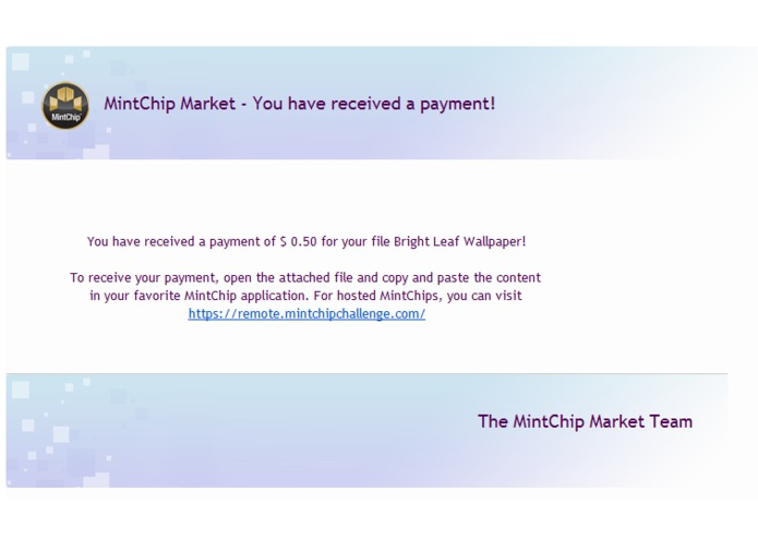 MintChip Market – screenshot 5